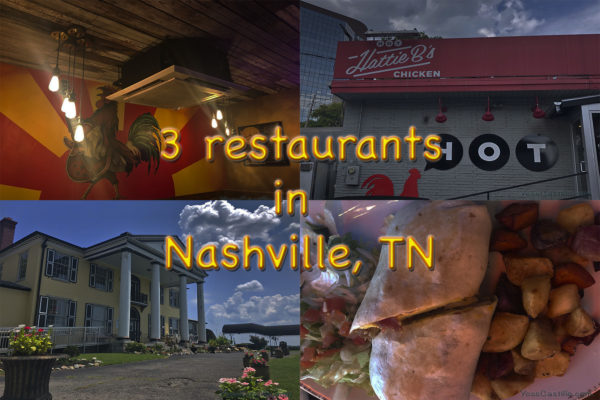 3 Restaurants in Nashville
