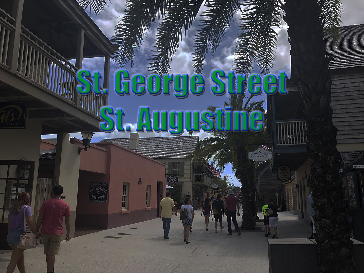 A stroll around St. George Street.